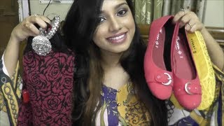 Collective haul... Indian wear, saree, jewelry, shoes etc.
