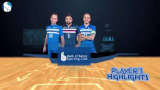 Bank of Beirut sporting Club -3rd player highlights