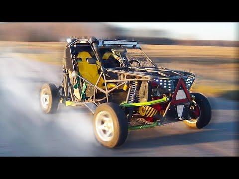 видео: СКОЛЬКО ДО 100 КМ/Ч ЕДЕТ ОБЛЕГЧЕННАЯ БАГГИ с 2-мя моторами????