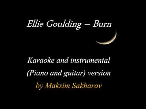 Ellie Goulding - Burn - Acoustic Karaoke by Maksim Sakharov