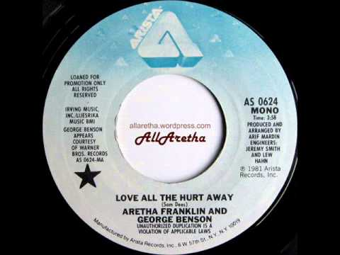 "Aretha Franklin - Love All The Hurt Away (Mono & Stereo) - 7"" DJ Promo - 1981"