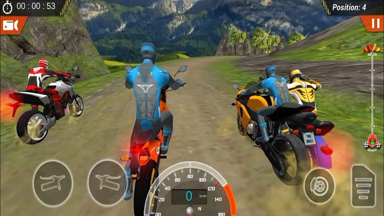 Off Road Bike Racing Game Play #Dirt Motorcycle Racer Game #Bike Games 3D For Android #Games Android