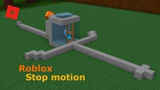 My First Roblox Stop Motion