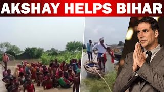 Akshay Kumar helps Bihar