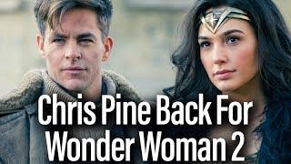 Wonder Woman 2 Details - Chris Pine Returns, Set In 80