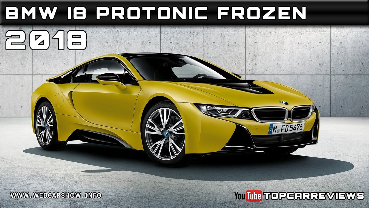 2018 Bmw I8 Protonic Frozen Yellow Review Rendered Price Specs