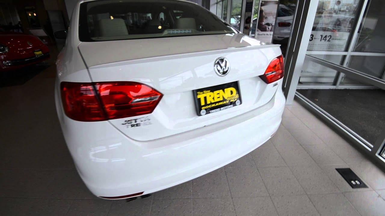 2014 Volkswagen Jetta SEL 1.8T Rearview Camera Car-Net at Trend Motors VW in Rockaway, NJ - YouTube