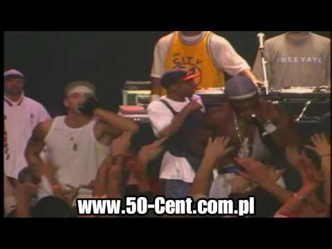 "50 Cent & G Unit ft. Eminem performing ""In Da Club"" Live in Detroit [ High Definition ]"
