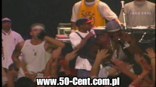"50 Cent & G Unit ft. Eminem performing ""In Da Club"" Live in Detroit [ High Definition ]"