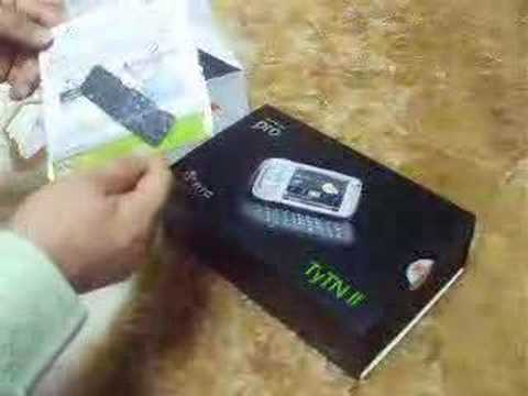 HTC TyTN II-Unboxing (Thailand set)
