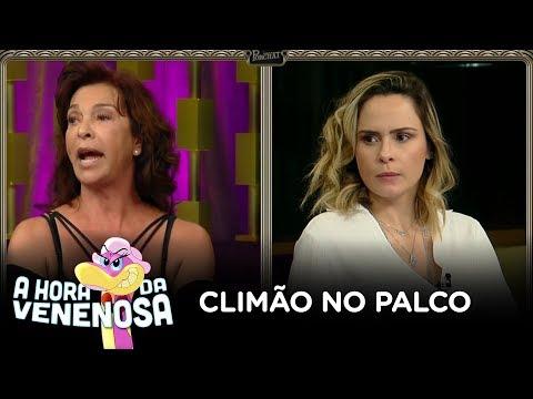 Ana Paula Renault deixa gravação do Programa do Porchat após briga com Vida Vlatt