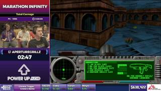 Marathon Infinity by aperturegrillz in 22:21 - SGDQ2017 - Part 92