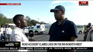 UPDATE: North West R49 accident claims 6 lives