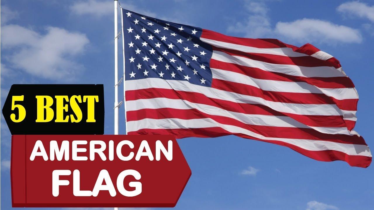 5 best american flags