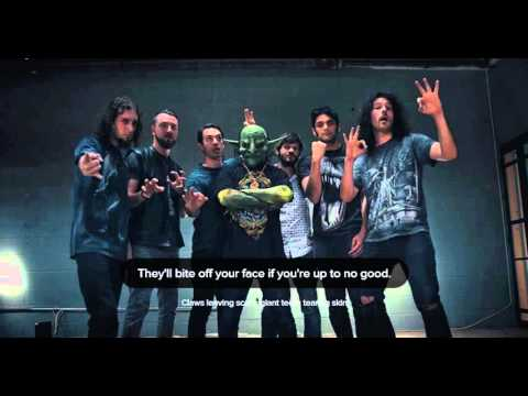 Nekrogoblikon - Bears (Lyrics Video)