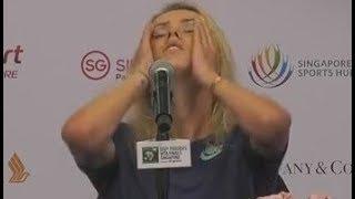 Свитолиной стало плохо во время пресс-конференции |
