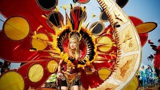 Bestival 2014: Desert Island Disco Carnival Parade