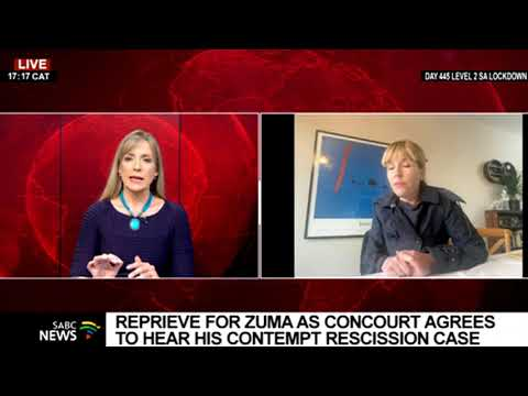 Download Karyn Maughan on Jacob Zuma's application for a rescission of ConCourt's ruling