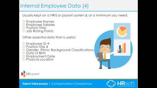Comp program – internal employee data ...