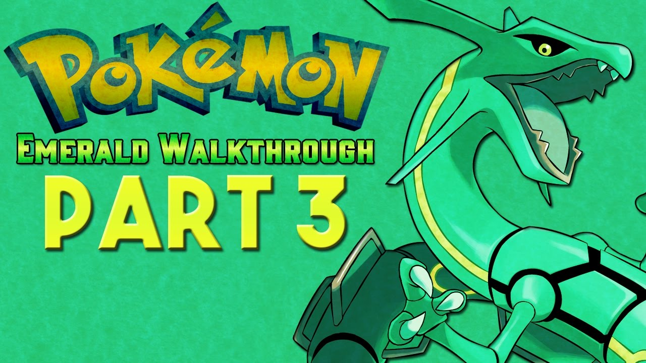 pokemon emerald how to get to 3rd gym