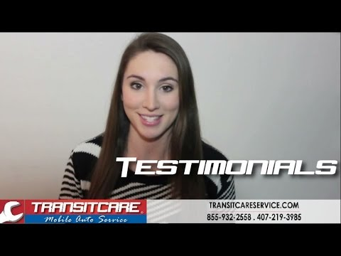 TRANSITCARE Mobile Auto Service | Real Customer Testimonials