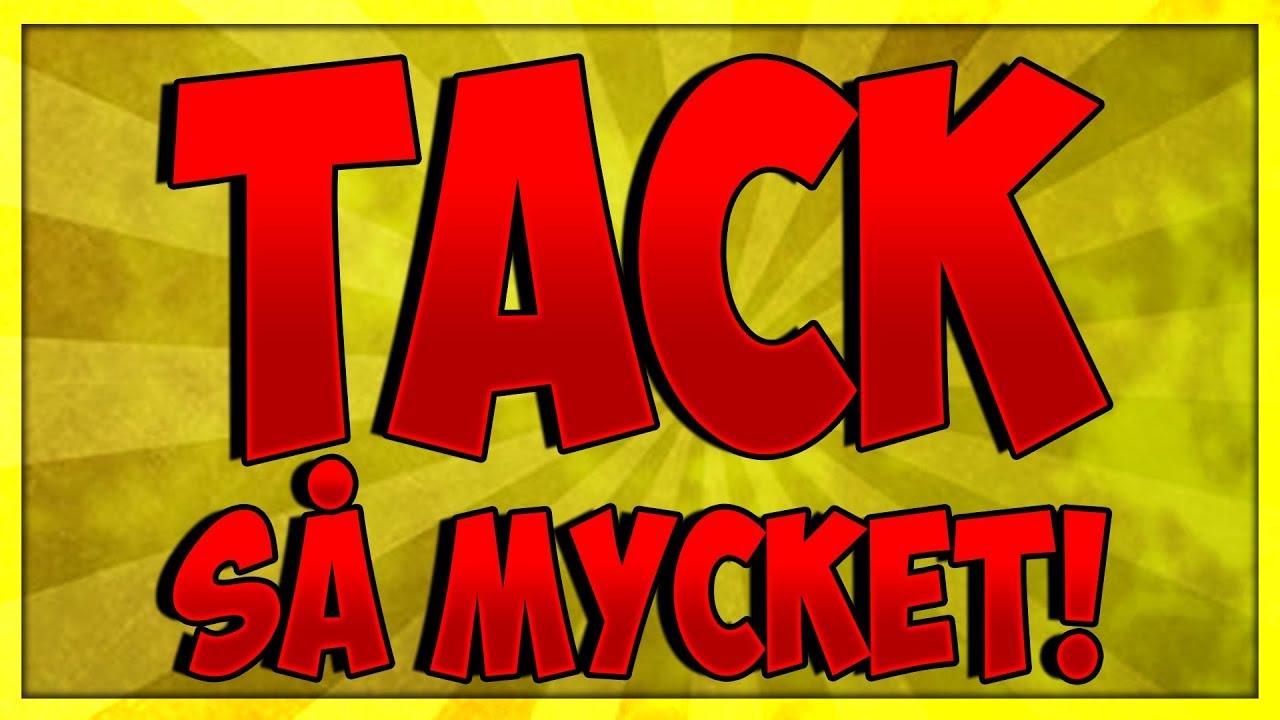 TACK SÅ MYCKET! (UPPDATERING/VLOG) - YouTube