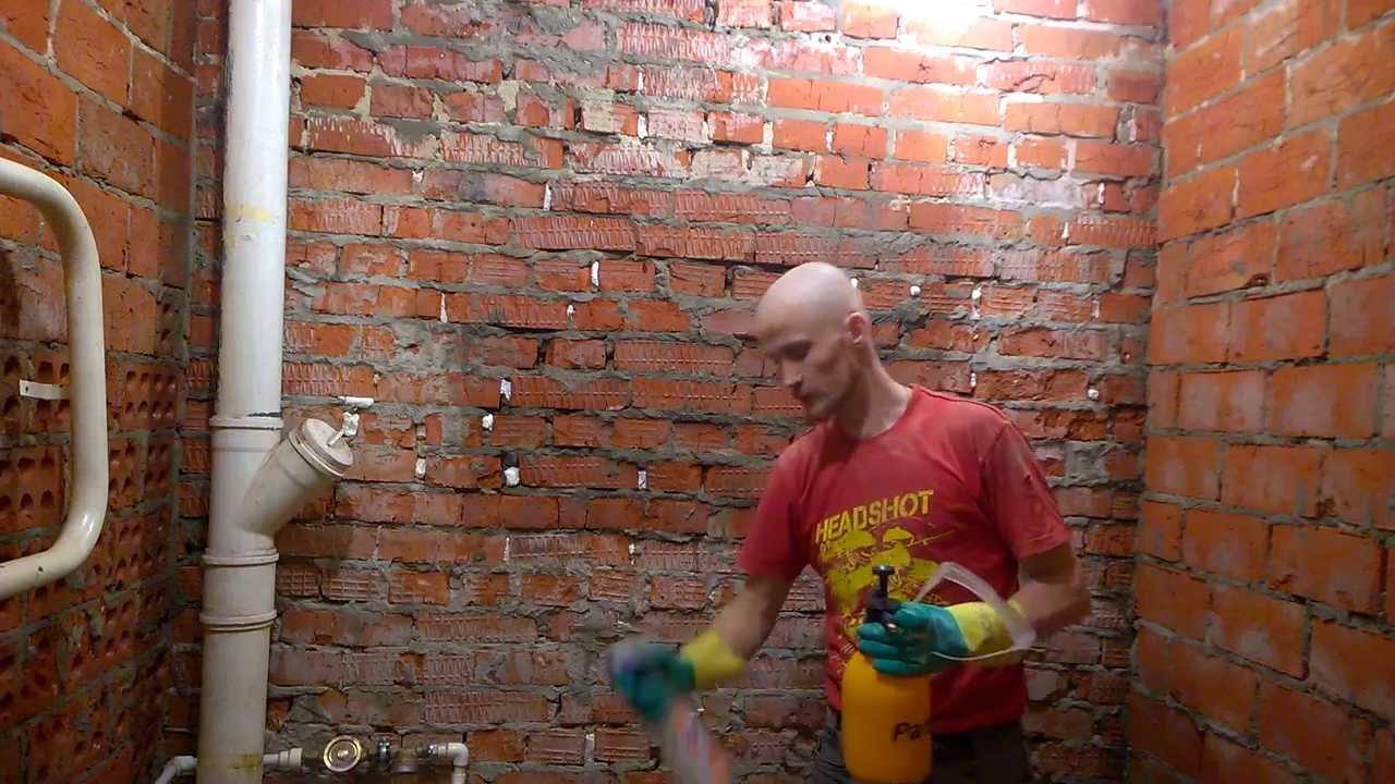 Цена грунтовки на кирпичную стену для покраски потолка требуется 170