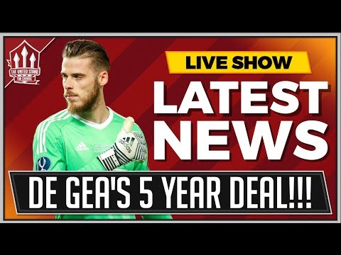DE GEA To Sign New Man Utd Contract! Manchester United US Tour Announced!