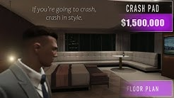GTA 5 - The Casino Penthouse Crash Pad