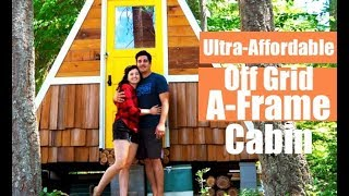 This Off Grid Cabin Is Ultra-affordable And Easy To Build!