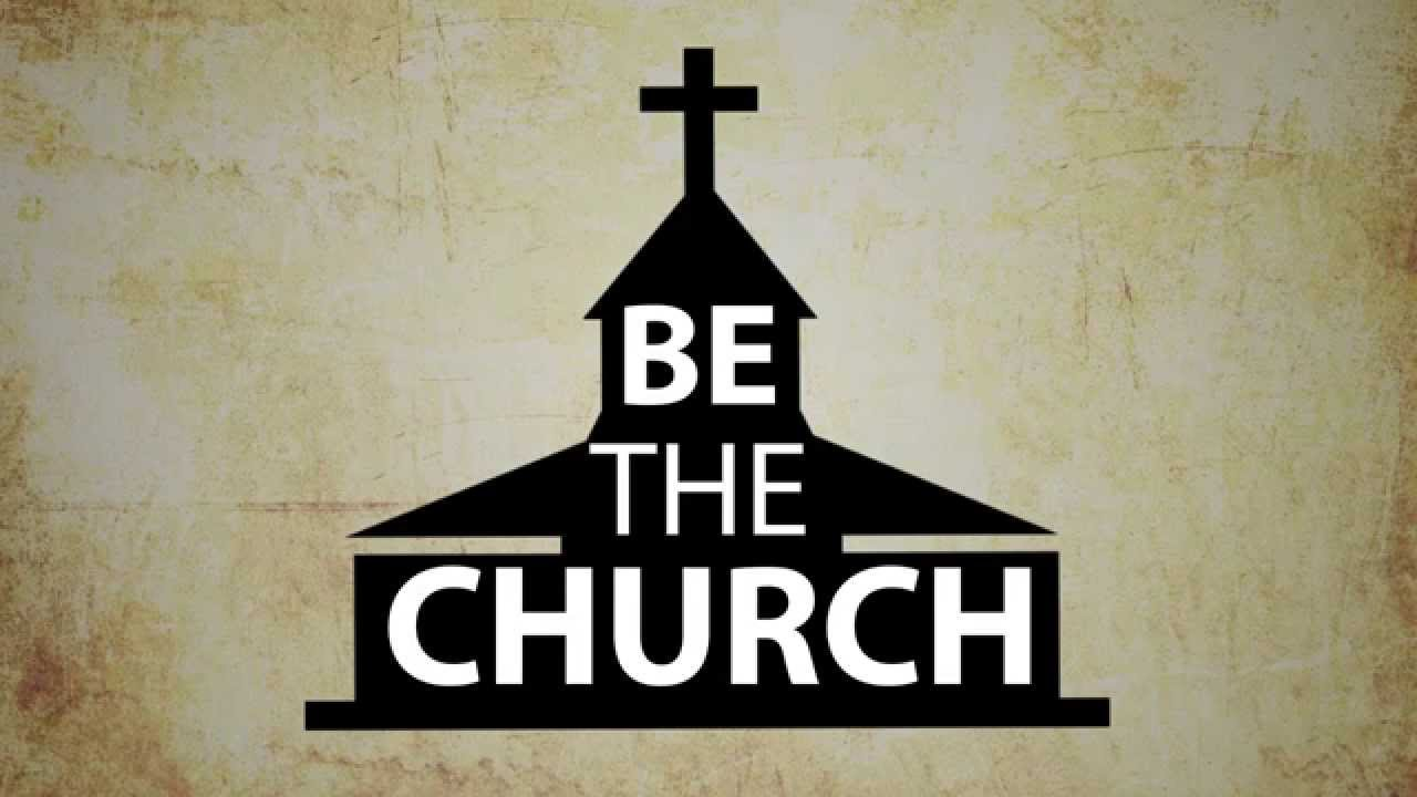 be the church bumper video youtube clipart church- kjv clipart church people