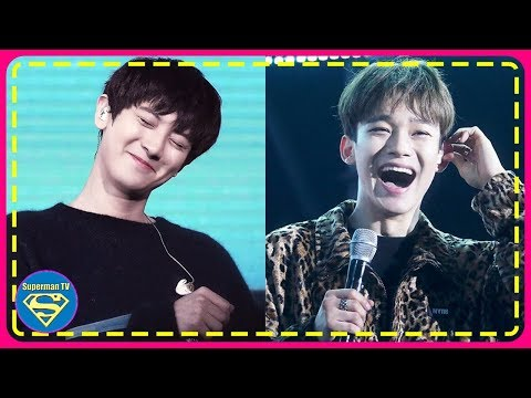 EXO Chanyeol And Chen Shared Each Other's Mic Stand At A Recent Event And The Way They Had To Adjust