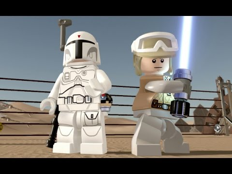 LEGO Star Wars: The Force Awakens - Empire Strikes Back DLC Pack - All Characters