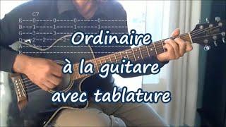 Download Ordinaire, Robert Charlebois. Leçon de Guitare (Tab, Paroles) Mp3 and Videos