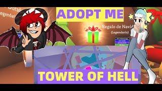 DOMINGO A TOPE EN TOWER RANDOM Y ADOPT ME!!! DIREQUEENMAS (15-12-19)