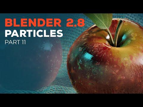 Blender 2.8 Beginner Tutorial - Part 11: Particles