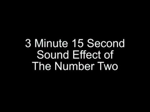The Number 2 Sound Effect
