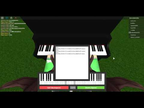 Mad World Roblox Piano Youtube