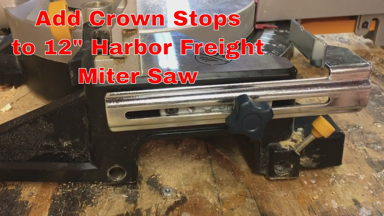 Crown Molding Jig Harbor Freight