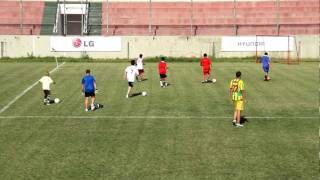 Tyre Stadium Lebanon - Young Players In Practice 5-Jul-2011 - part 2