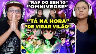 MINHA MÃE REAGINDO AO Rap do Ben 10 (Omniverse) - NÃO HAVIA MAIS O BEN | IRON MASTER