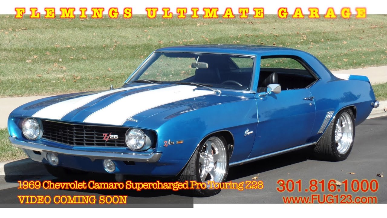 1969 Chevrolet Camaro Supercharged Pro Touring Z28 Video Coming