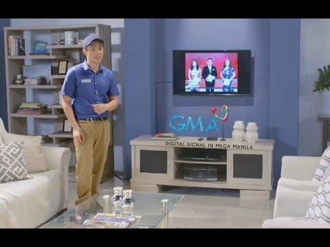 GMA Digital TV signal sa Mega Manila