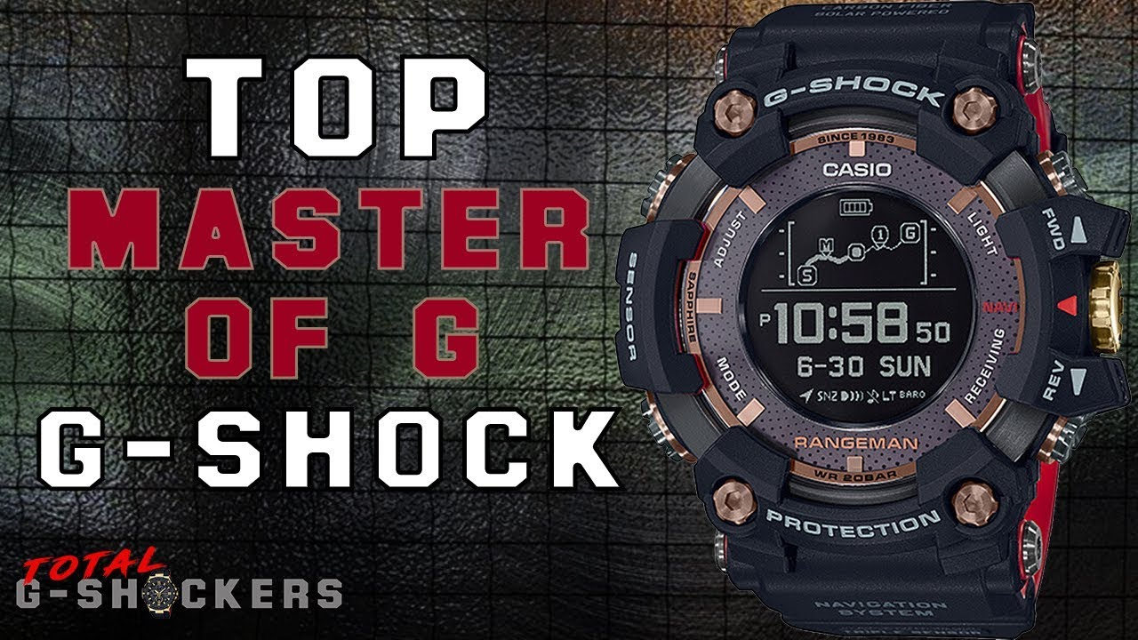 5c77ec4f6 Top Casio G Shock Master of G Watches - Top 5 Best Casio G-Shock Watch for Men  Buy 2018