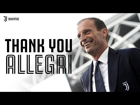 Thank you for everything, Massimiliano Allegri!