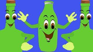 10 yeşil şişe + 34 Dakika En Popüler Türkçe Çocuk Şarkısı  Duvarda asılı 10 yeşil şişe Şarkısı