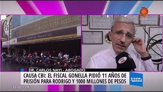 Causa CBI: el fiscal Gonella pidió 11 años de prisión para Rodrigo