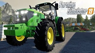 FARMING SIMULATOR 19 #146 - NUOVO TRATTORE JOHN DEERE 6155M - GAMEPLAY ITA