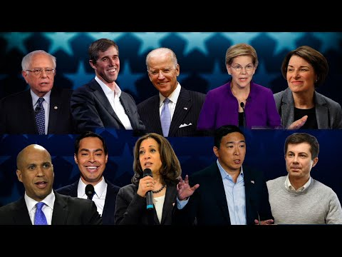 Dem debate: Top candidates finally share one stage