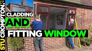 How to fit wndows and cladding a dormer